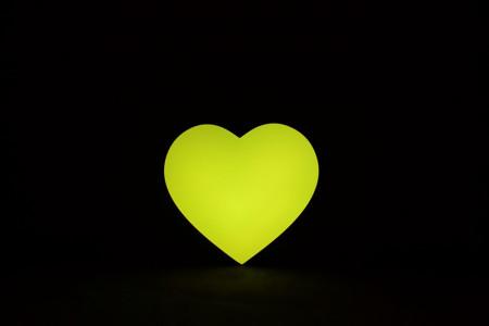 serce LED na wesele
